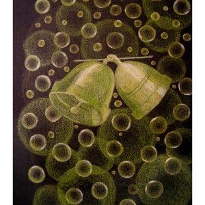 Bubbles and Bells 8″x 10″