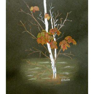 Autumn Leaves 8″x 10″