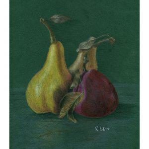 Pair of Pears 8″ x 10″