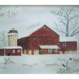 Winter on the Farm 8″x 10″