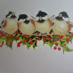 Birdy Quartet 12×14