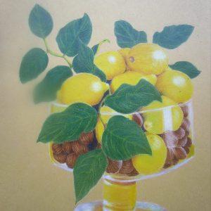 Lemon bowl 8×10